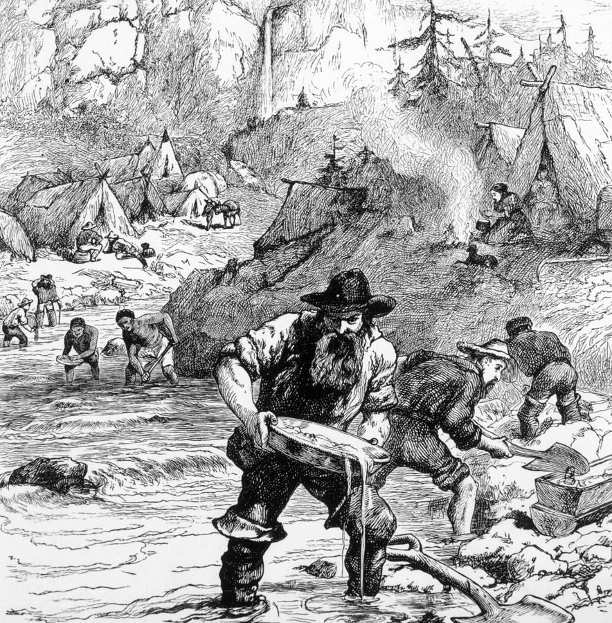 california gold rush of 1848 the greatest migration in the human history In january 1848, gold was discovered at sutter's mill in the sierra nevada foothills about 40 miles east of sacramento – beginning the california gold rush, which had the most extensive impact on population growth of the state of any era.