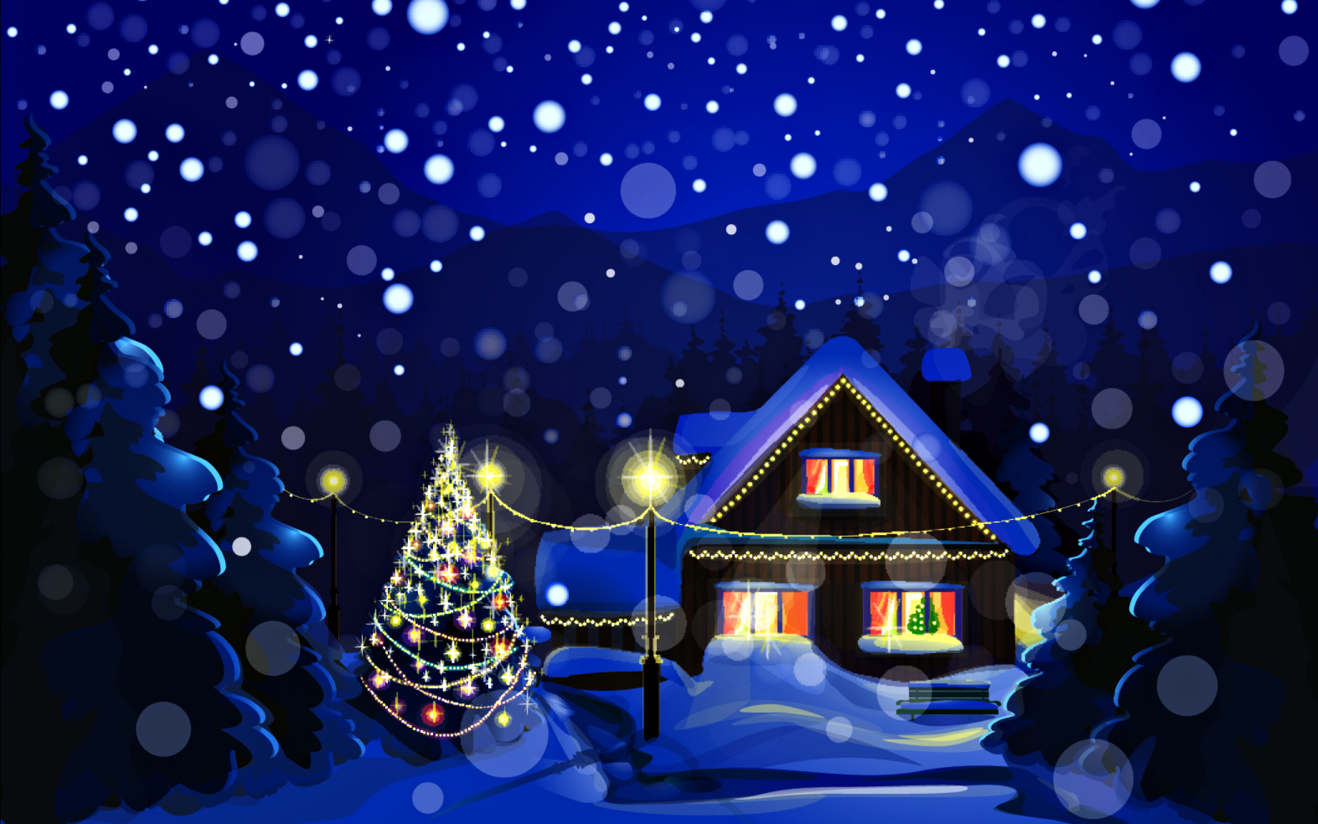 www.getbg.net_new_year_wallpapers_the_house_is_decorated_for_the_new_year_090630_
